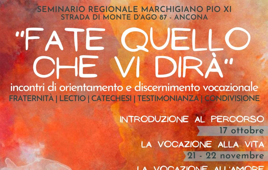 Pastorale giovanile – proposta diocesana 2020/21
