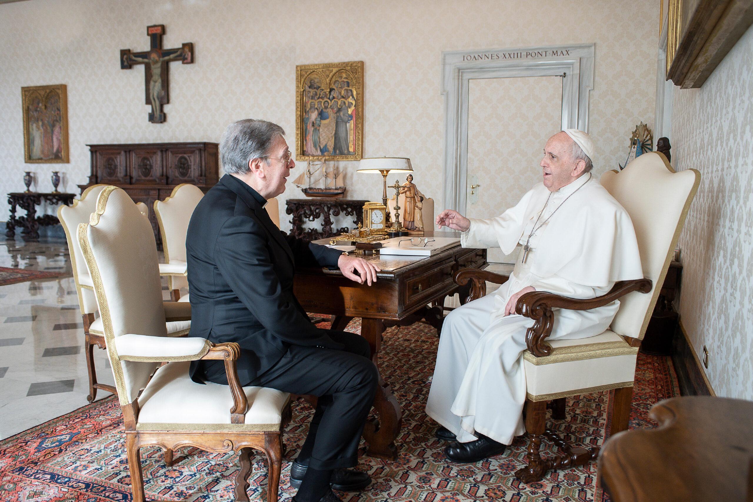 UDIENZA PRIVATA di S.E. Mons. Piero Coccia con Papa Francesco