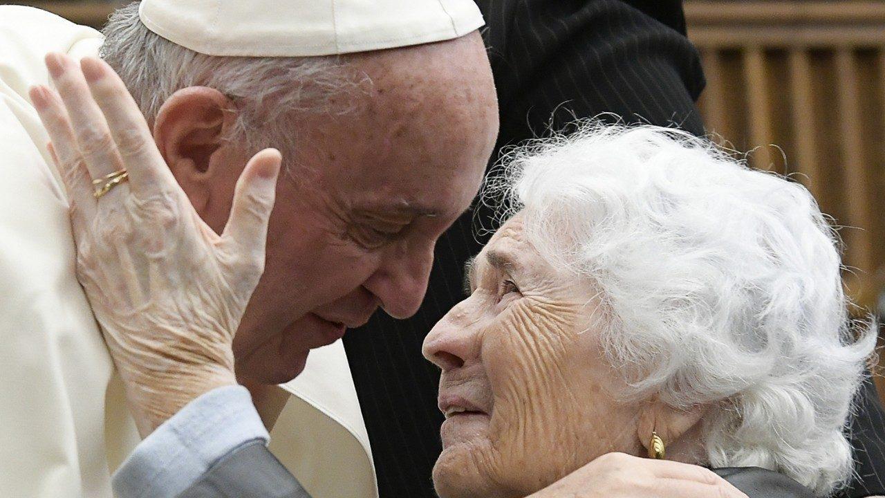 MESSAGGIO DI PAPA FRANCESCO per la prima Giornata Mondiale dei Nonni e degli Anziani